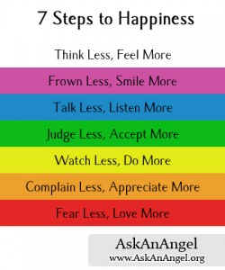 Nice Seven Steps To Happiness » Post 17 7 Steps To Happiness